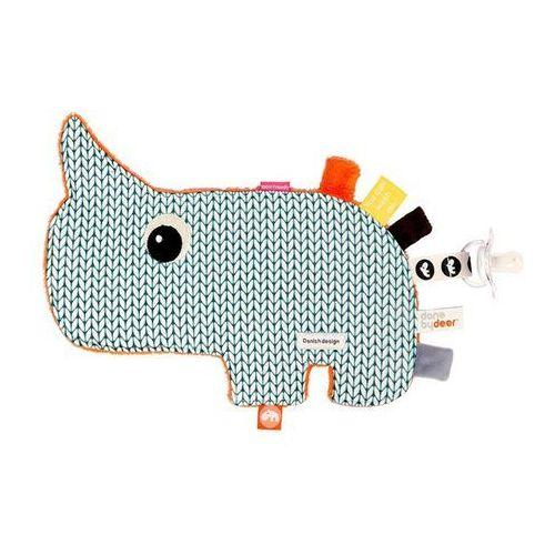 Done By Deer - Przytulanka dla niemowląt Nosorożec - produkt z kategorii- Pozostałe maskotki
