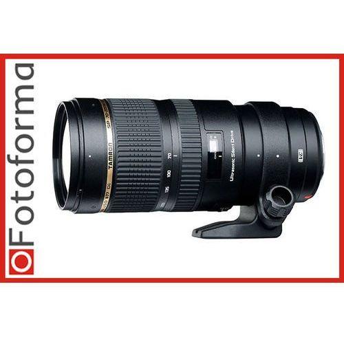 Tamron obiektyw 70-200 mm f/2.8 Di VC USD (Canon) + Velbon Monopod UP-400, A009E