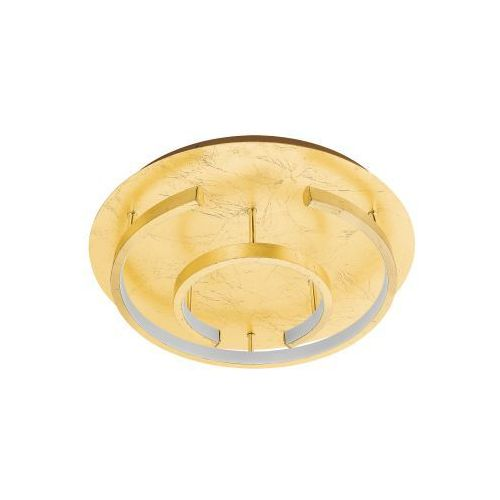 Eglo pozondon 98487 plafon lampa sufitowa oprawa 1x18w led złoty (9002759984878)