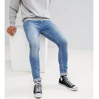 super skinny jeans in vintage mid wash - blue, Noak