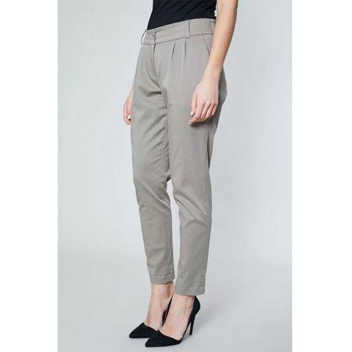 Spodnie damskie model dora 10515 khaki, Click fashion