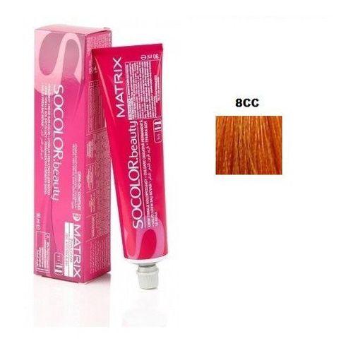 Matrix socolor beauty farba do włosów 8cc jasny blond intensywnie miedziany 90 ml (3474630326859)