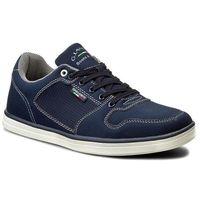 Sneakersy GINO LANETTI - MP07-16904-01 Granatowy, kolor niebieski