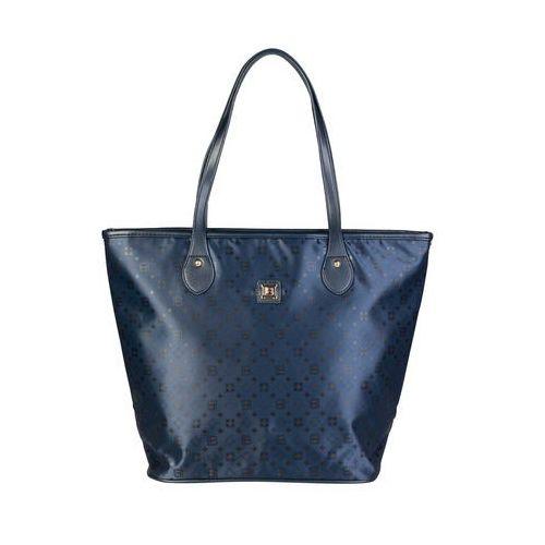 Torebka shopper damska LAURA BIAGIOTTI -LB17W101-26-31, kolor niebieski