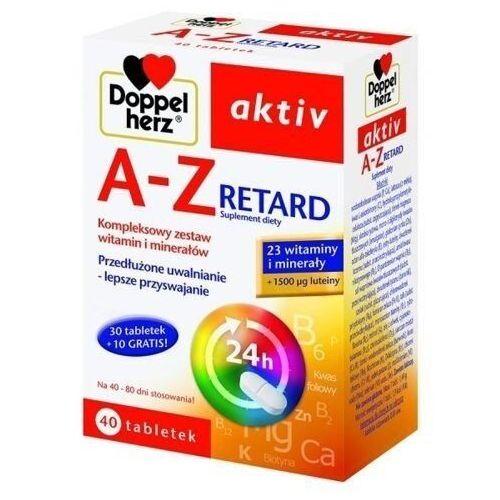 Tabletki DOPPELHERZ AKTIV A-Z Retard x 40 tabletek