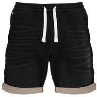 GStar BRONSON SPORT 1/2 Szorty jeansowe dark aged black, bawełna