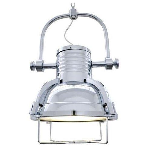 Industrialna lampa wisząca chromowana Loffi