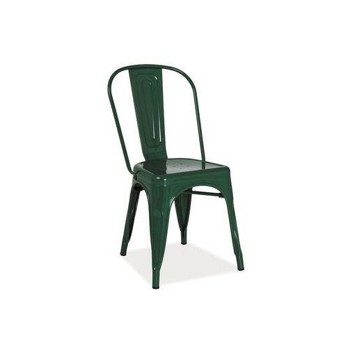 Signal Krzesło loft dark green