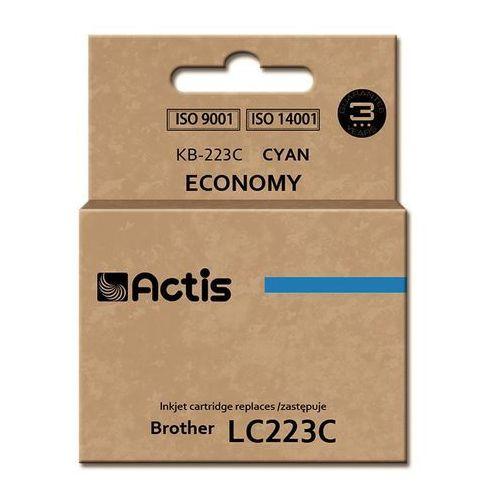Tusz Actis KB-223C (do drukarki Brother, zamiennik LC223C standard 10ml cyan), KB-223C
