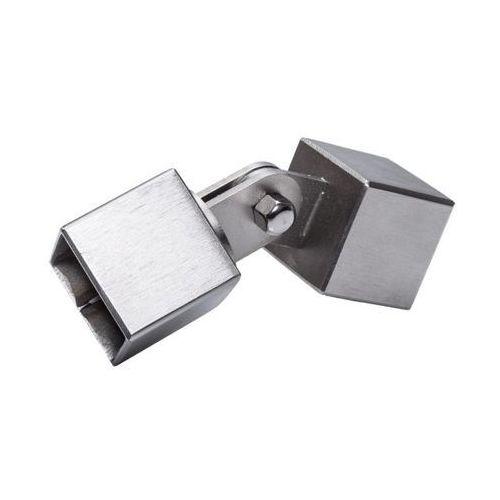 Złącze nastawne tralki Kornik nierdzewne 22 x 22 mm (5905156094352)