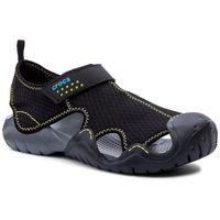 Sandały CROCS - Swiftwater Sandal M 15041 Black/Charcoal, kolor czarny