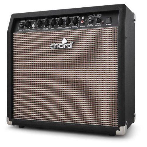 Wzmacniacz gitarowy Chord CG-30 25cm Overdrive Reverb