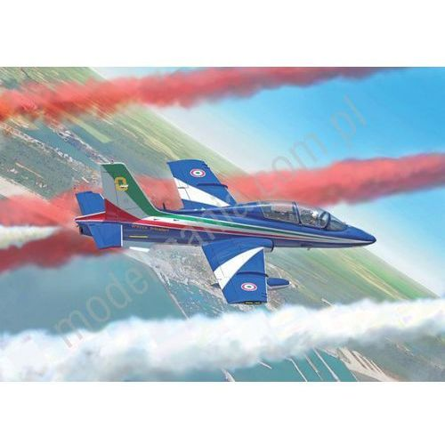 Samolot szkolno-treningowy Aermacchi MB-339A P.A.N., malowanie 2016 Italeri 1380 (8001283013802)