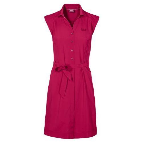 Sukienka malawi dress - azalea red, Jack wolfskin