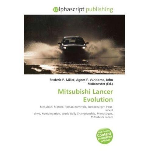 Mitsubishi Lancer Evolution (9786130638948)