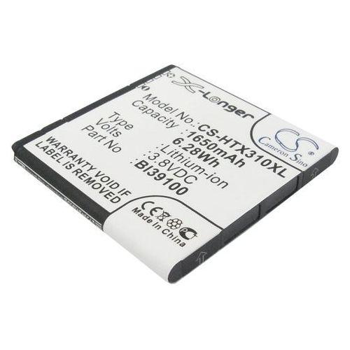 HTC X310E / BI39100 1650mAh 6.27Wh Li-Ion 3.8V (Cameron Sino), CS-HTX310XL