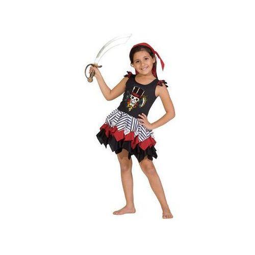 Kostium Piratki dla dziewczynki - XL - 140 cm