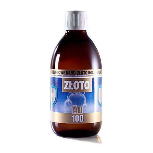 Złoto koloidalne nano au-100 300ml marki Pro aktiv