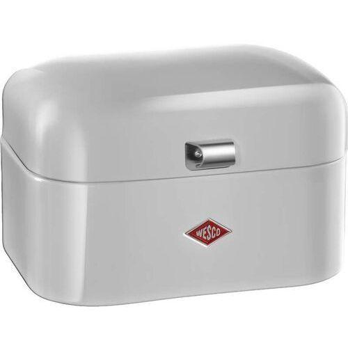 Wesco Pojemnik stalowy na bułki. chleb, szary single grandy (235101-76) (4004519077757)