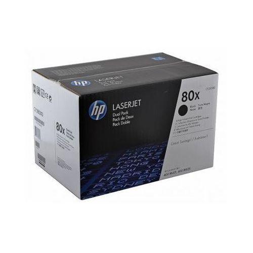 Tonery Oryginalne HP 80X (CF280XD) (Czarne) (dwupak) - DARMOWA DOSTAWA w 24h