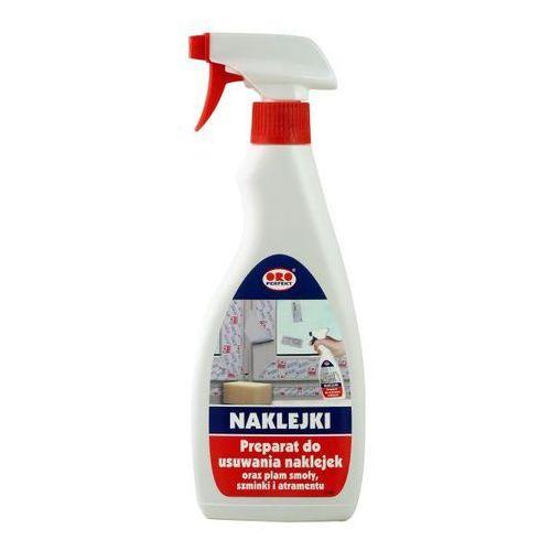 Oro Preparat do usuwania naklejek oraz plam smoły, szminki i atramentu 500 ml (5907176885859)