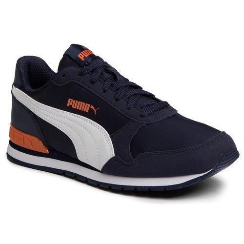 Sneakersy PUMA - St Runner V2 Nl Jr 365293 15 Peacoat/Puma White/Firecrack