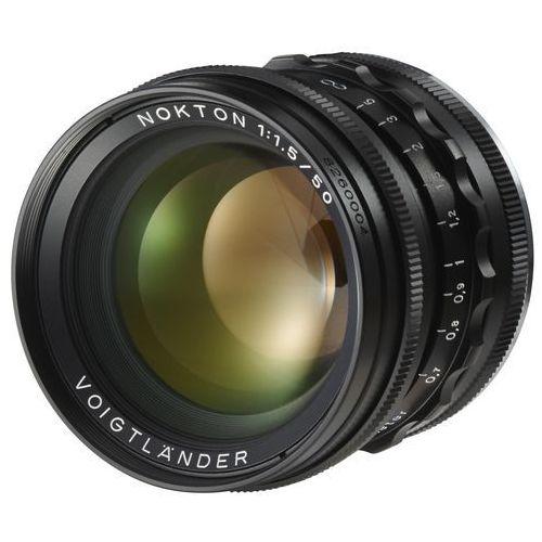Voigtlander 50mm f/1.5 nokton czarny (leica m)