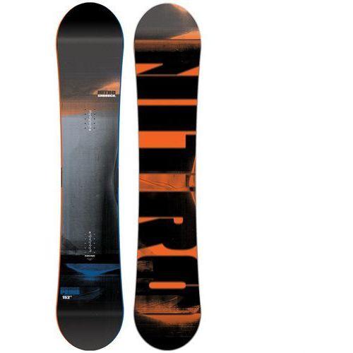Nowa deska snowboardowa prime 163w 2017 marki Nitro