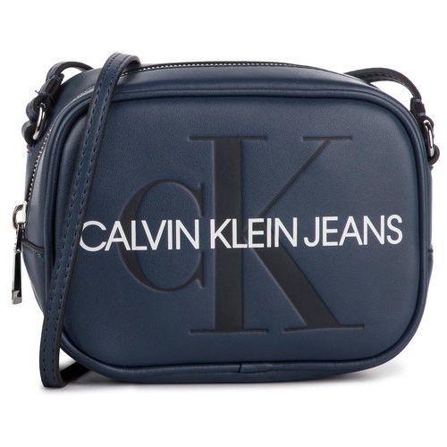 Calvin klein jeans Torebka - sculpted monogram camera bag k60k605524 476