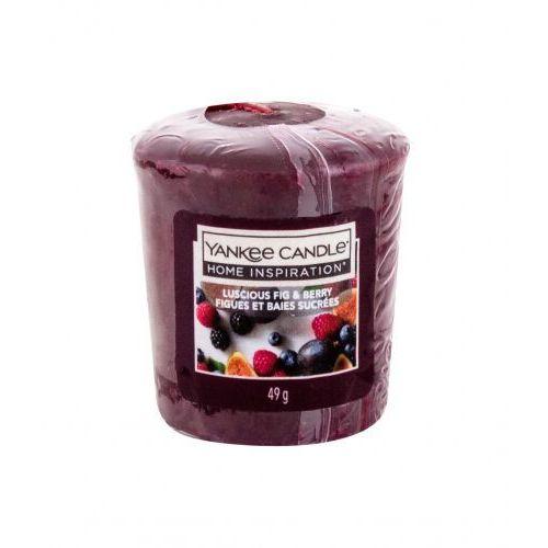 Yankee candle luscious fig & berry świeczka zapachowa 49 g unisex