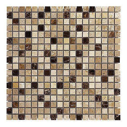 Dunin travertine mozaika kamienna travertine cream mix 15