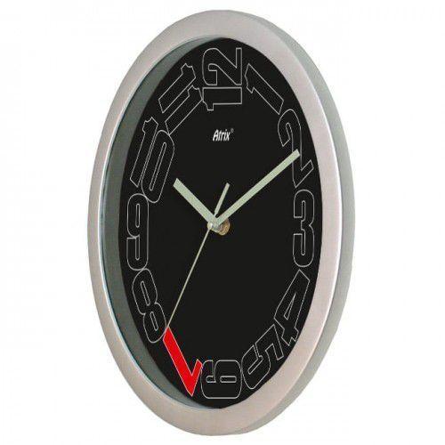 Atrix Zegar naścienny solid leniwe godziny
