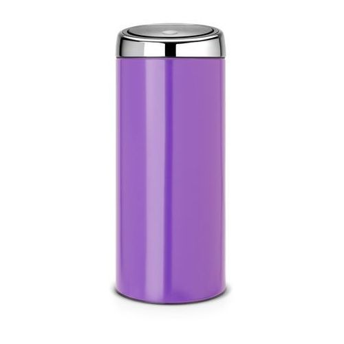 - kosz 'touch bin®' - wiaderko plastikowe - 30l - pansy purple marki Brabantia
