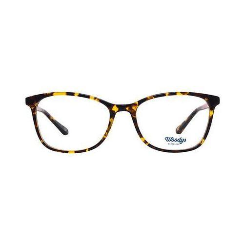 Woodys barcelona Okulary korekcyjne melon 03