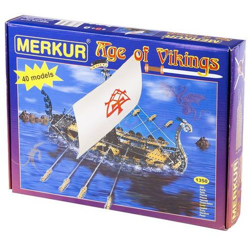 Merkur Merkury Wiek Wikingów 40 modele 1350 sztuk