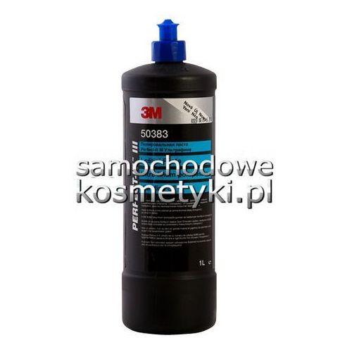 3M Ultrafina SE - mleczko polerskie do usuwania hologramów; niebieski korek