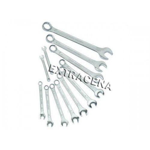 Zestaw kluczy płasko-oczkowych 6-22 mm - m130-12-din marki Mannesmann