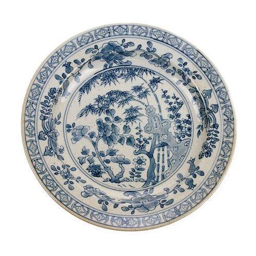 Hk living talerz kyoto ceramiczny ręcznie malowany ace6718 (8718921020190)
