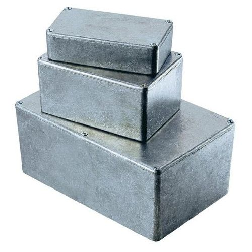 Obudowa uniwersalna Aluminium 187.5 x 119.5 x 37 mm, Hammond Electronics 1590DD, 1 szt. z kategorii Pozostała elektryka