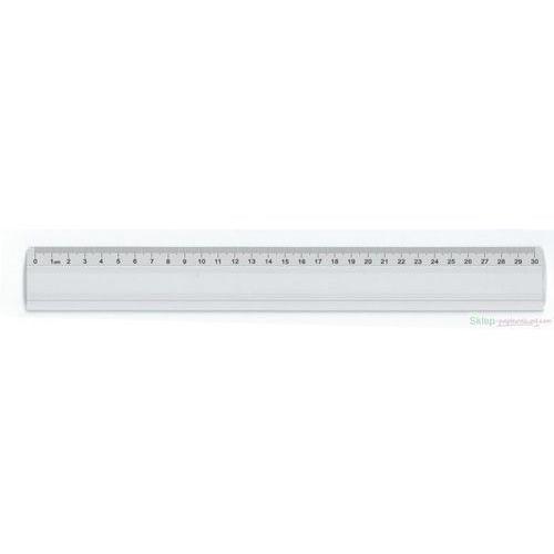 Leniar Linijka Aluminiowa z wkładką 30cm (30071) Darmowy odbiór w 20 miastach!, 30071