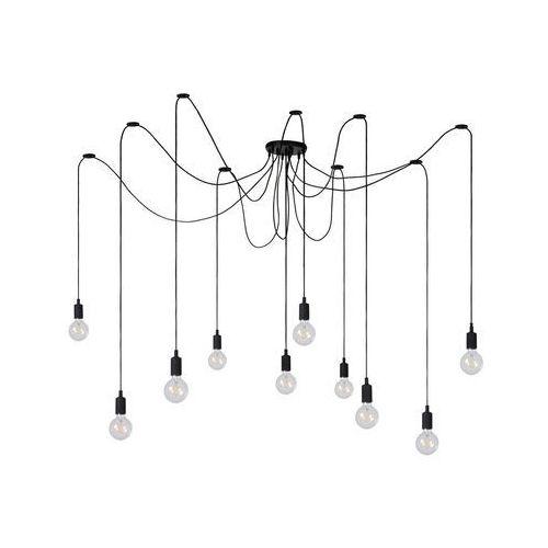 Lucide 08408/10/30 - Lampa wisząca FIX MULTIPLE 10xE27/60W/230V, kolor Czarny