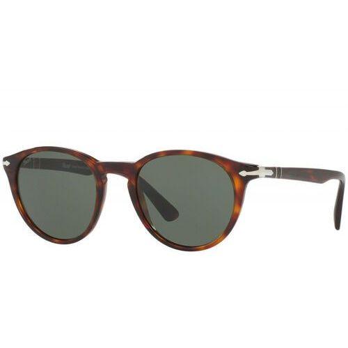 Persol Okulary przeciwsłoneczne brown/green, kolor brązowy