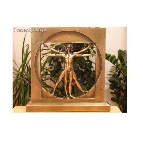 OKAZJA - Człowiek witruwiański statuetka