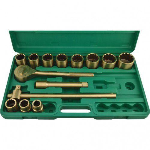 """Zestaw narzędzi nieiskrzących 3/4"""" Be-Cu 14szt. Kennedy KEN5758460K KEN-575-8460K"""