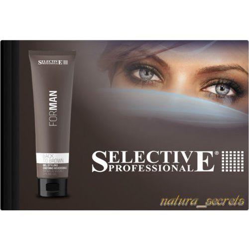 Żel Maskujące Siwe Włosy 150ml Selective Professional Back to Brown, F411-5378C