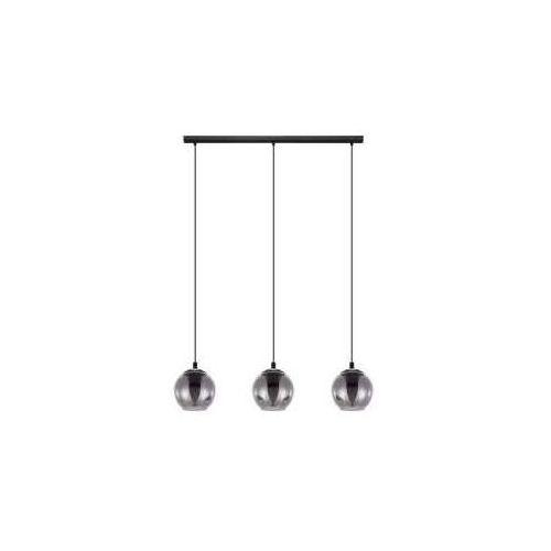 Eglo ariscani 98652 lampa wisząca zwis oprawa 3x40w e27 czarna dymiona (9002759986520)