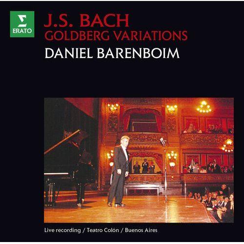 Warner music Bach: goldberg variations - daniel barenboim (płyta cd)