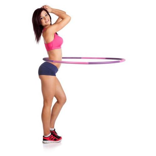 Odchudzające Hula Hop inSPORTline Weight Hoop 100 cm