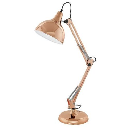 Eglo 94704 - Lampa stołowa BORGILLIO 1xE27/60W/230V, 94704