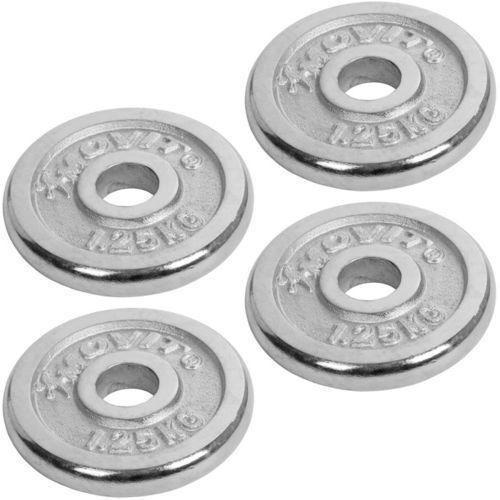 Movit ® Zestaw chromowanych hantli 2x15 kg hantle 30 kg (20040342)